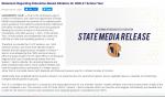 CIF STATE MEDIA RELEASE