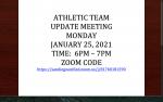 Athletic Update Meeting
