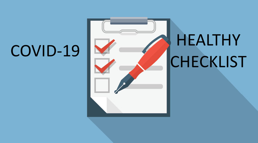 Healthy Check List and Forms You Need