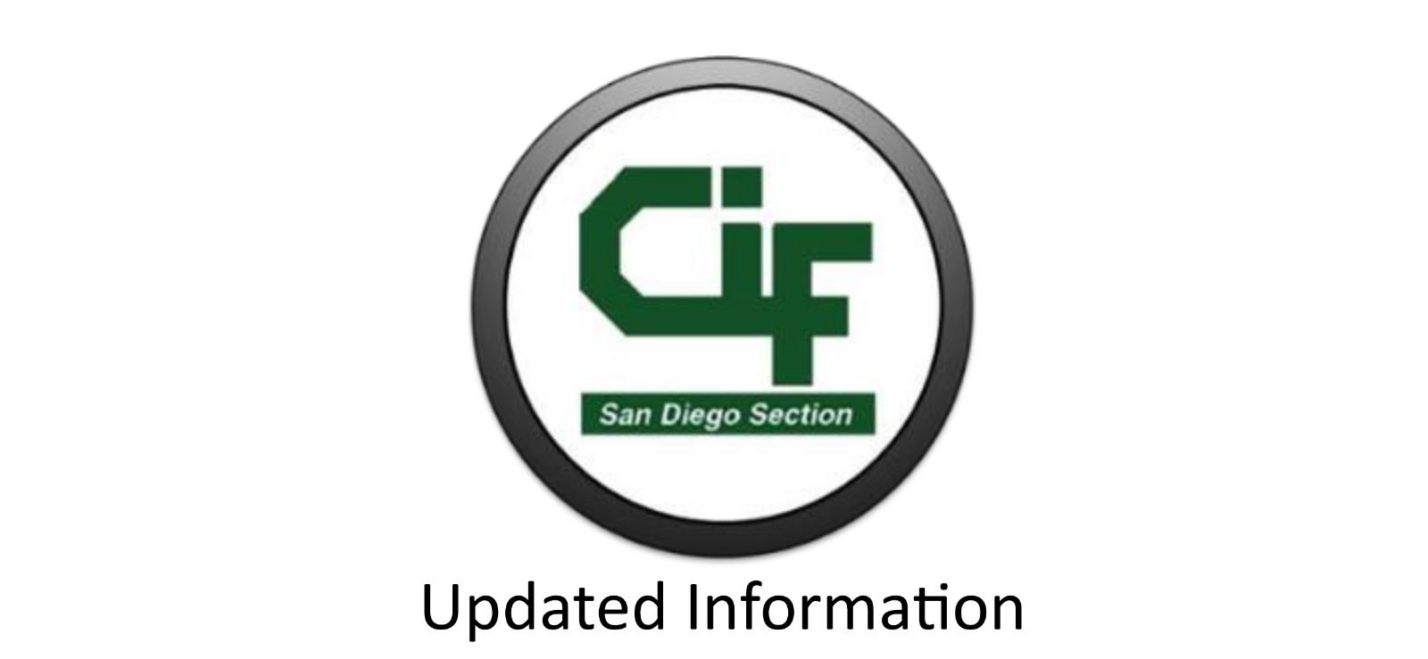 CIF Announcements