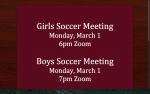 Soccer Mandatory Meeting Click Here