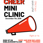 South Cheer Clinic – Dec 7