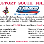 South FBLA Students Partner with Maaco for Fundraiser!