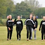 X-Country Girls Varsity Conference meet - 2017