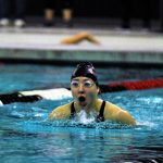 Girls swim conference meet pictures
