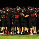 Varsity football vs Janesville Parker