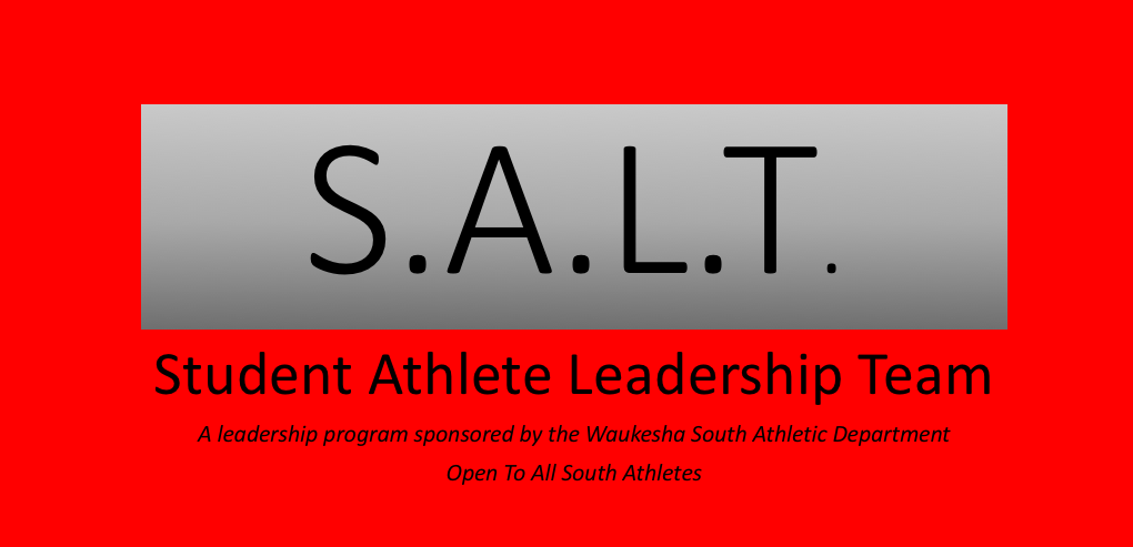 First S.A.L.T. Program of the Year is THIS SUNDAY
