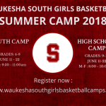 Girls Basketball Summer Camp Registration now OPEN!