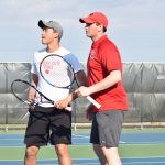 Blackshirt Tennis Doubles Team of Ebben and Tang Heading to State!