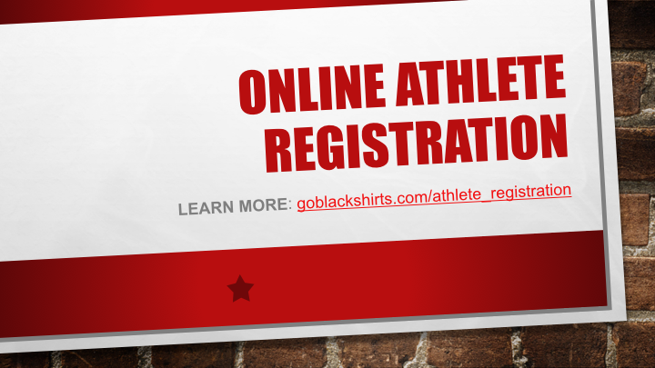 2018 ATHLETICS KICKOFF and START DATES-FALL SPORTS REGISTRATION IS NOW OPEN ONLINE (yes, we said online!)