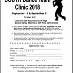 Waukesha South Dance Team to Hold Dance Clinic For Grades K-8