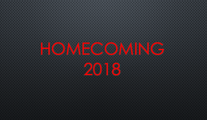 Homecoming Info Posted