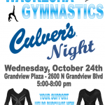 Grab Some Culver's and Support Gymnastics!