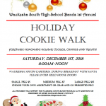 Band Program to Host Holiday Cookie Walk!