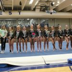 Waukesha Gymnasts Defeat Arrowhead and Franklin Combined on Senior Night