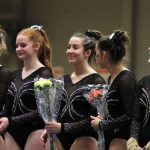 Varsity Gymnastics Senior Night