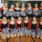 Dance team Regionals Sat