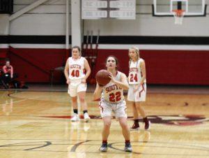 JV2 Girls Basketball vs Slinger