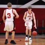 JV2 Boy's Basketball vs North