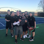 Boys Varsity Tennis Picks up Conference Dual Win over Waukesha West