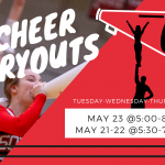 Cheerleading Tryouts Starting Tomorrow