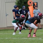 Varsity Football Scrimmage Pictures