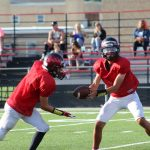 Freshman Football Scrimmage Pictures