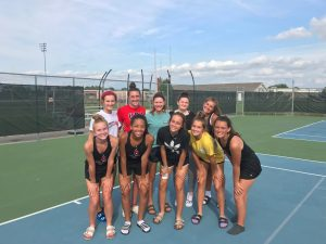 Girls Varsity Tennis – Battle of the Bay