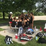Girls Varsity Tennis - Battle of the Bay