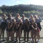 Girls Varsity Tennis – All 7 Flights Medal in Slinger/Hartford Invite