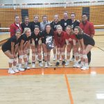 Girls Varsity Volleyball falls to Hartford 2 – 0