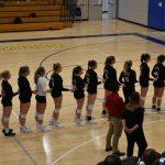 Girls Varsity Volleyball vs CMH