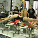 Women's Swim Conference Relays