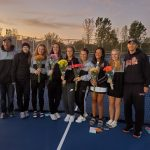 Girls Varsity Tennis beats Burlington 6 – 1 on Senior Night