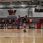 Girls Junior Varsity Volleyball vs KM