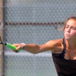 Blackshirt One Singles – Alli Gardner – earns a spot in the Individual State Tennis Tournament