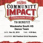 Varsity Dance Pizza Ranch Fundraiser TONIGHT!