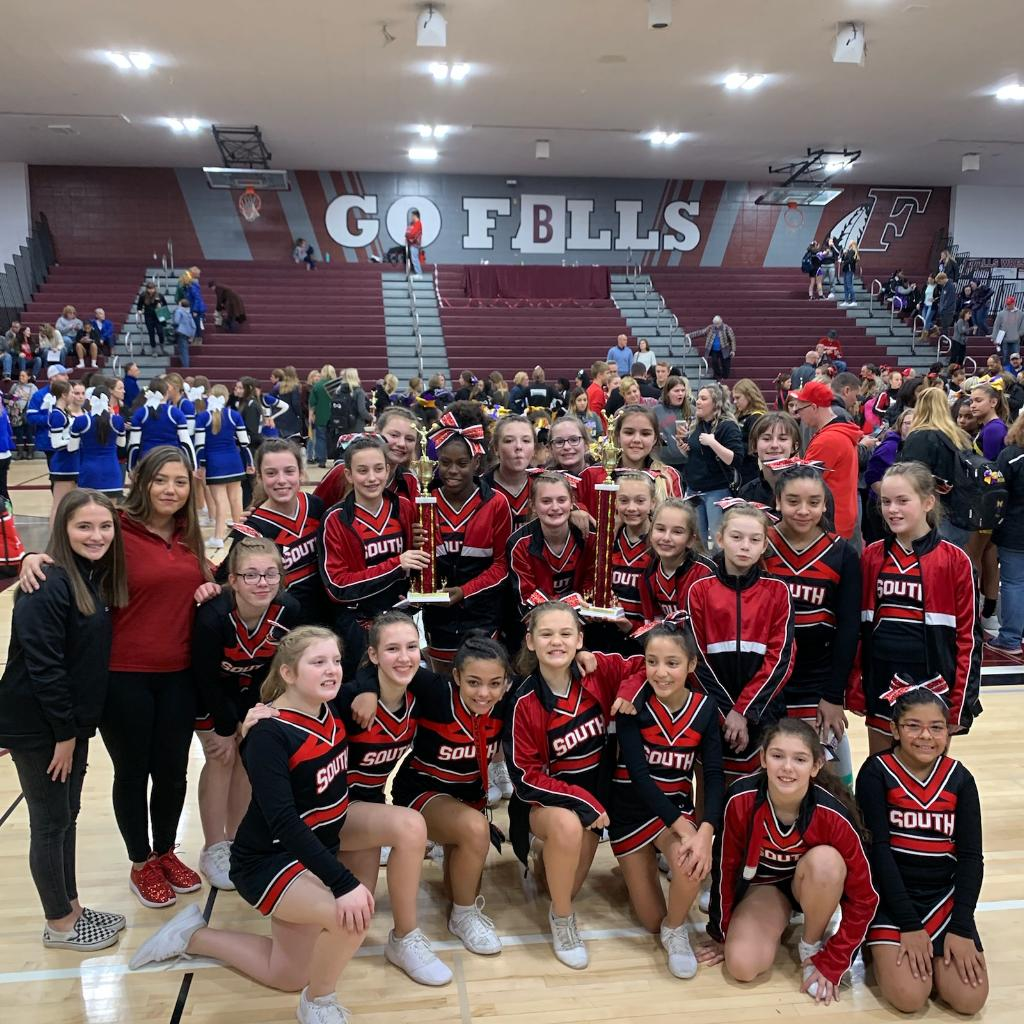 Waukesha South Youth Cheerleading- 1st place & Grand Champs!