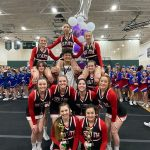 Undefeated Varsity Coed Cheer Heading To State