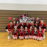 South Varsity Cheerleading Heading to State Championship Weekend!