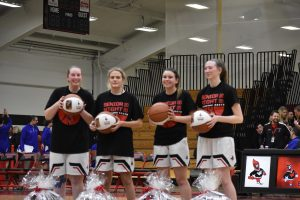 Girls Varsity Basketball vs Waukesha West (Senior Night)