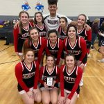 Waukesha South Varsity Co-Ed Heads to Day 2 Finals Undefeated!