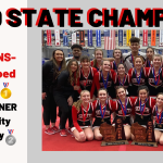 Varsity Cheer 2020 State Champs!