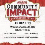 Pizza Ranch Fundraiser TONIGHT!