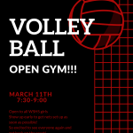 Girls Volleyball Open Gym