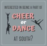 Cheer & Dance Tryouts Deadline – Friday 5/15