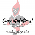 2020 Athletic Department Special Awards