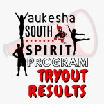 Spirit Program Tryout Results