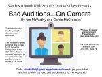 NOW STREAMING – Bad Auditions…On Camera, a South Drama Production