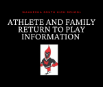 RETURN TO PLAY INFO FOR ATHLETES AND FAMILIES